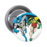 Batman & Robin 6 Cm Round Badge