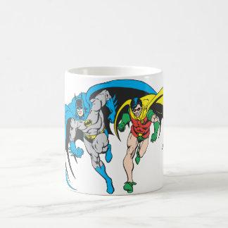 Batman & Robin Basic White Mug