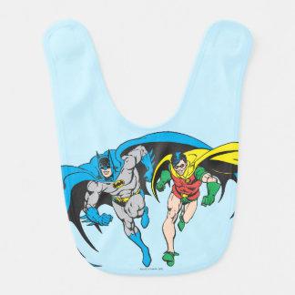 Batman & Robin Bibs