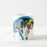 Batman & Robin Classic White Coffee Mug