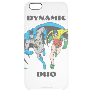Batman & Robin Clear iPhone 6 Plus Case