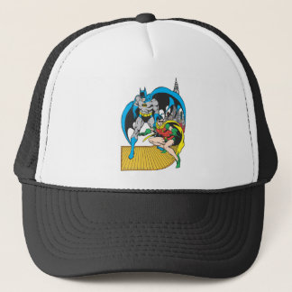 Batman & Robin Escape Trucker Hat