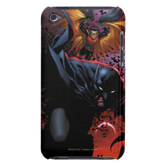Batman & Robin Flight Over Gotham Barely There iPod Case