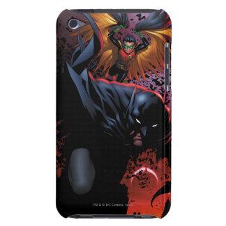Batman & Robin Flight Over Gotham Barely There iPod Case