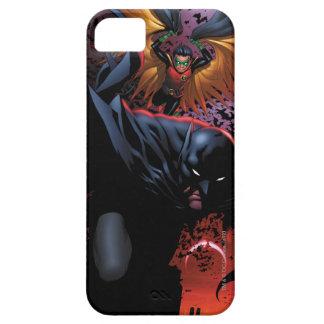 Batman & Robin Flight Over Gotham iPhone 5 Cases