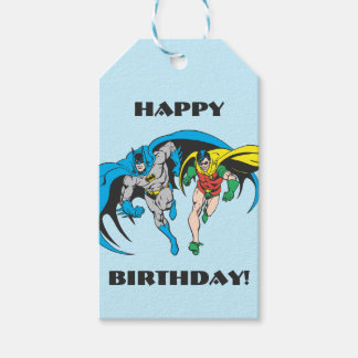 Batman & Robin Gift Tags