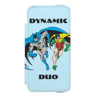 Batman & Robin Incipio Watson™ iPhone 5 Wallet Case