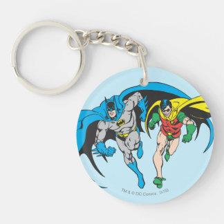 Batman & Robin Key Ring