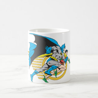 Batman & Robin Profile Coffee Mug