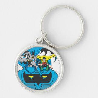 Batman & Robin Ride Batmobile Key Ring