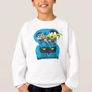 Batman & Robin Ride Batmobile Sweatshirt