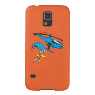 Batman & Robin Ride Helicopter Galaxy S5 Cases
