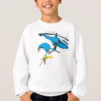 Batman & Robin Ride Helicopter Sweatshirt