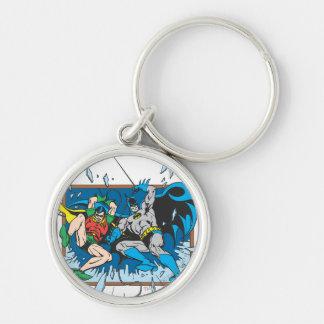 Batman & Robin Shatter Window Key Ring