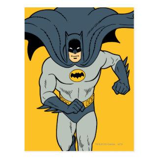 Batman Running Postcard