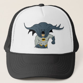 Batman Running Trucker Hat