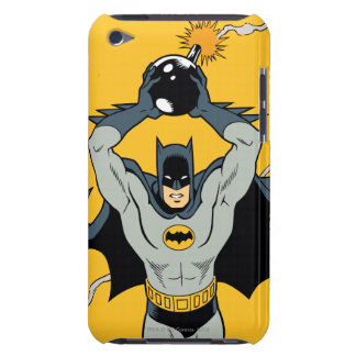 Batman Running With Bomb iPod Touch Case-Mate Case