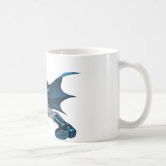 Batman Runs Coffee Mug