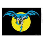 Batman Runs Forward Card