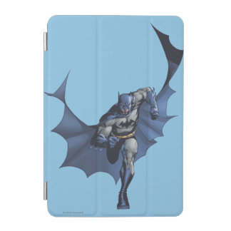 Batman runs with flying cape iPad mini cover