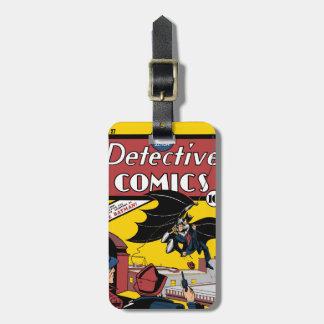 Batman s First Appearance Bag Tag