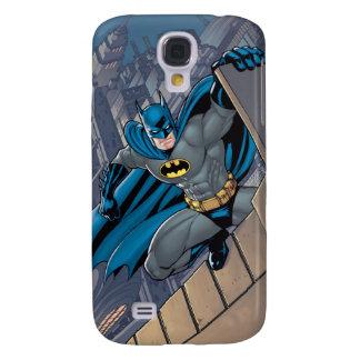 Batman Scenes - Hanging From Ledge Galaxy S4 Case