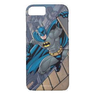 Batman Scenes - Hanging From Ledge iPhone 8/7 Case