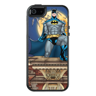 Batman Scenes - Moon Front View OtterBox iPhone 5/5s/SE Case