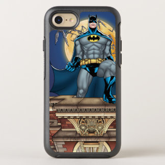 Batman Scenes - Moon Front View OtterBox Symmetry iPhone 8/7 Case