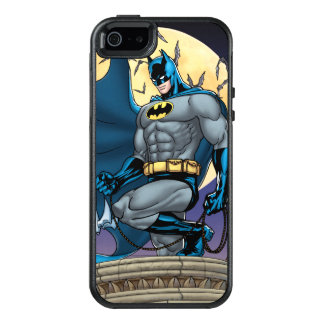Batman Scenes - Moon Side View OtterBox iPhone 5/5s/SE Case