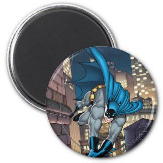 Batman Scenes - Swinging Low 6 Cm Round Magnet