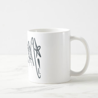 Batman Script Coffee Mug