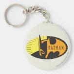 Batman Silhouette Keychains