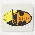 Batman Silhouette Mouse Pad