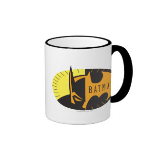 Batman Silhouette Coffee Mugs