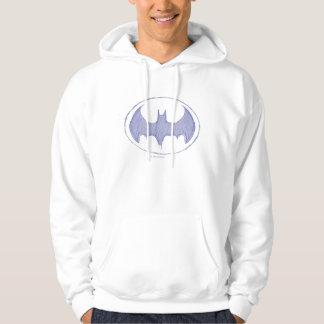 Batman Sketchbook Purple Hooded Pullover