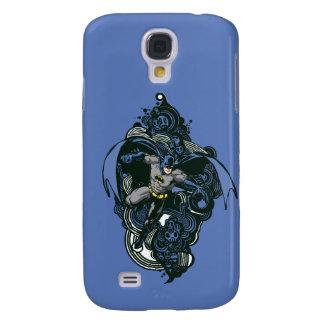 Batman Skulls/Ink Doodle 2 Galaxy S4 Case