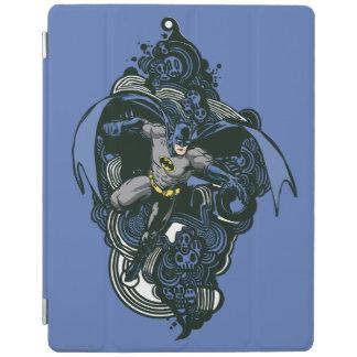 Batman Skulls/Ink Doodle 2 iPad Cover