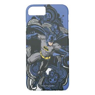 Batman Skulls/Ink Doodle 2 iPhone 8/7 Case