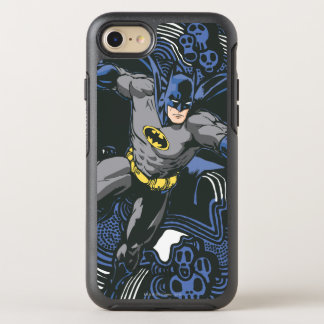Batman Skulls/Ink Doodle 2 OtterBox Symmetry iPhone 8/7 Case