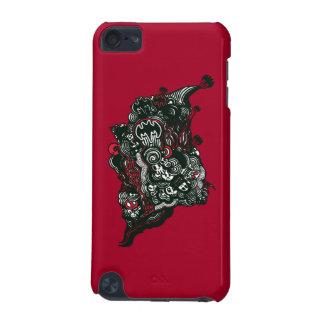 Batman Skulls/Ink Doodle iPod Touch 5G Cases
