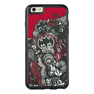 Batman Skulls/Ink Doodle OtterBox iPhone 6/6s Plus Case