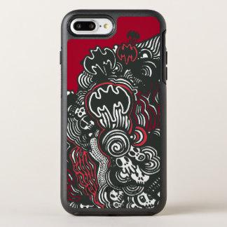 Batman Skulls/Ink Doodle OtterBox Symmetry iPhone 7 Plus Case