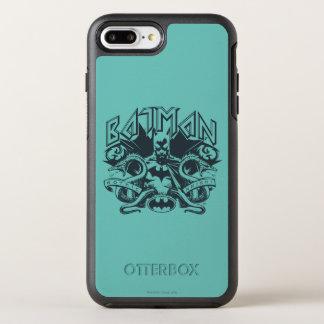 Batman   Snakes Logo OtterBox Symmetry iPhone 8 Plus/7 Plus Case
