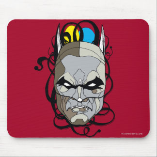 Batman Stained Glass Pen & Ink Mouse Mat