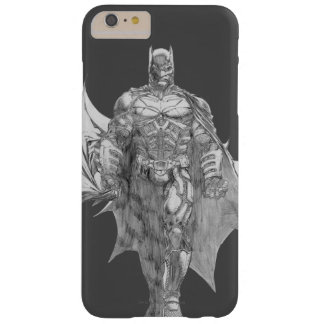 Batman Standing Drawing Barely There iPhone 6 Plus Case