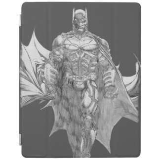 Batman Standing Drawing iPad Cover