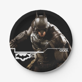 Batman Standing With Cape 7 Inch Paper Plate