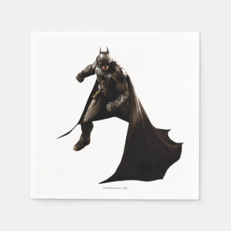 Batman Standing With Cape Disposable Napkin