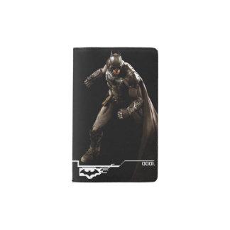 Batman Standing With Cape Pocket Moleskine Notebook